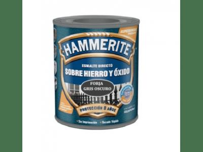 Esmalt Hammerite forja gris oscuro