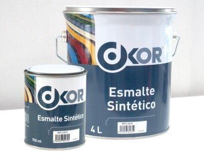 Esmalte Sintético Brillante DKOR Blanco