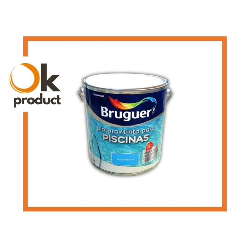 pintura per piscines BRUGUER NEPTUNO Azul Mar Egeo 4L