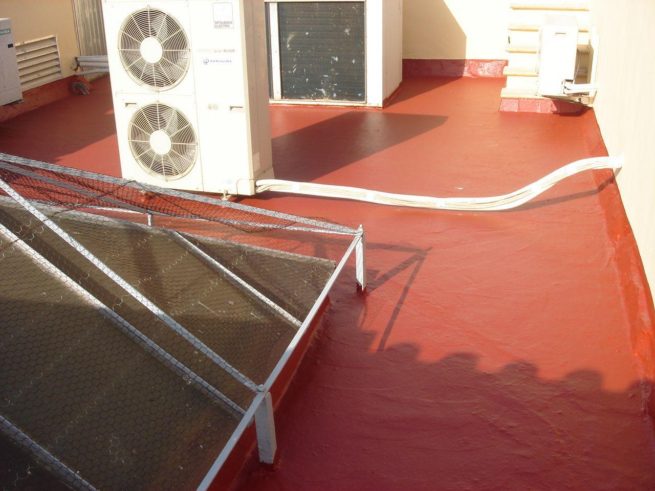 Impermeabilizante terrazas - Membrana híbrida