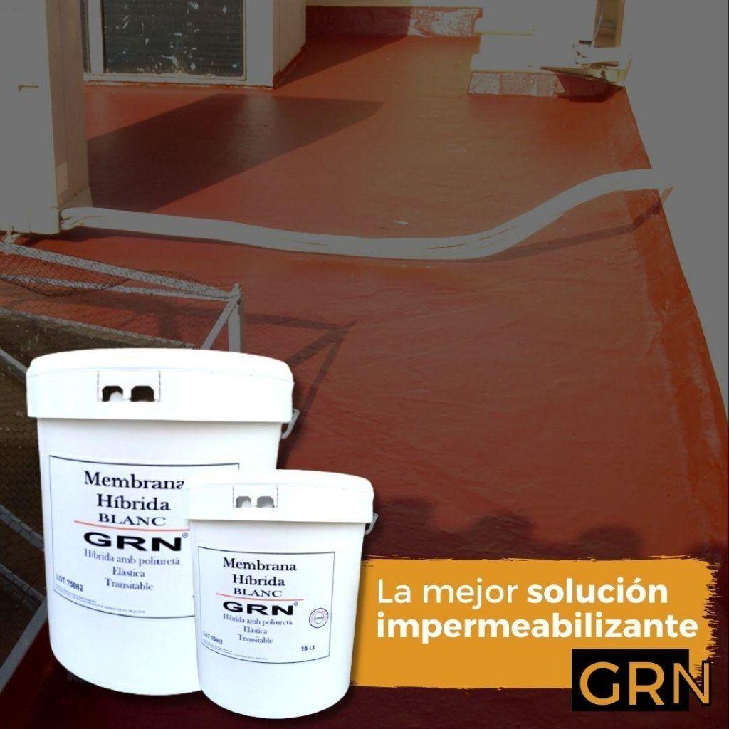 Impermeabilizante de terrazas - Pintura para terrazas