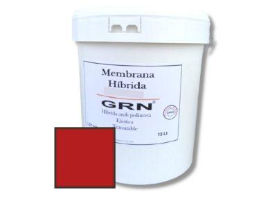 pintura impermeabilizante Membrana Híbrida GRN Rojo