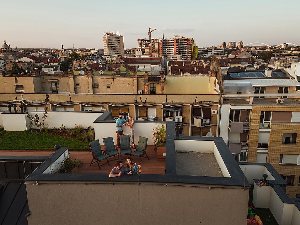 Impermeabilitzant de terrasses, terrats i superfícies exposades.
