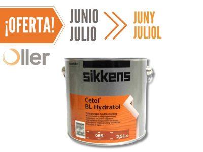 pintura para madera Sikkens Cetol BL Hydratol Teka