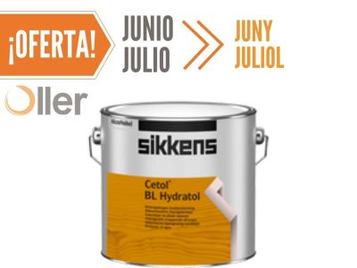 pintura para madera Sikkens Cetol BL Hydratol Roble Claro