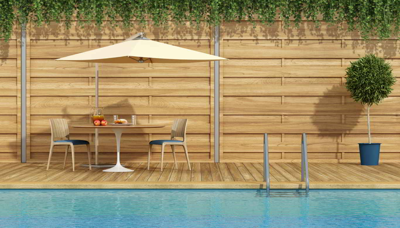 Tarima de madera para piscina - Destacada
