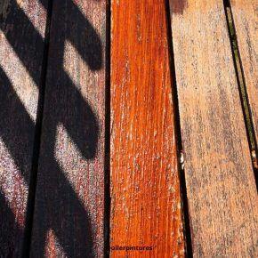 Tarima de madera en tratamiento