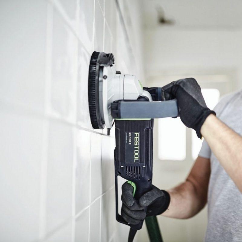 amoladora saneamiento RG 130 E-Set DIA HD