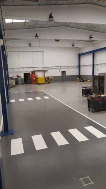 Pintar sòl industrial - Pintura sòls industrials, paviment i senyalitzacions