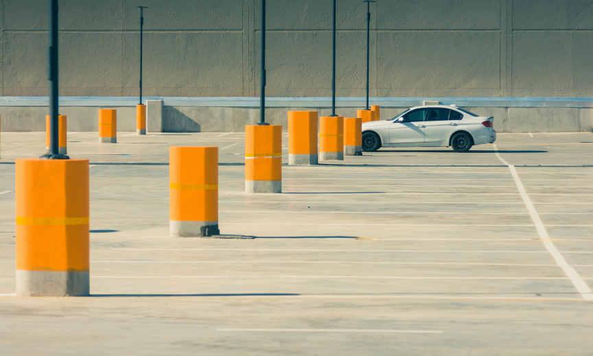 Pintures epoxi per sòls exteriors - Parking exterior