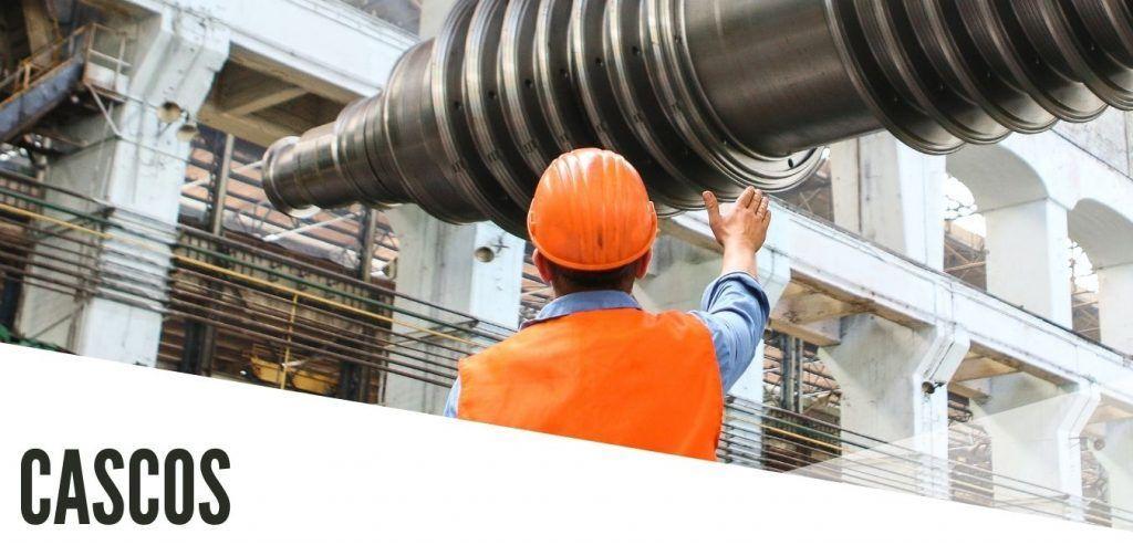 cascos protección laboral
