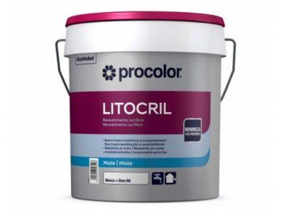 revestimiento fachadas litocril procolor