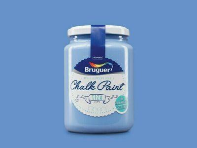 chalk paint bruguer azul mediterráneo